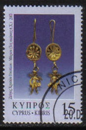 Cyprus Stamps SG 0984 2000 10c - USED (h190)