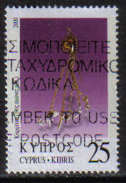 Cyprus Stamps SG 0987 2000 25c - USED (h196)