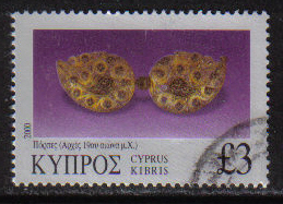 Cyprus Stamps SG 0995 2000 Three Pounds 3.00 - USED (h211)