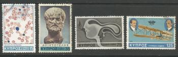 Cyprus Stamps SG 511-14 1978 Anniversaries and Events - USED (h965)