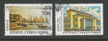 Cyprus Stamps SG 939-40 1998 Europa Festivals - USED (h968)