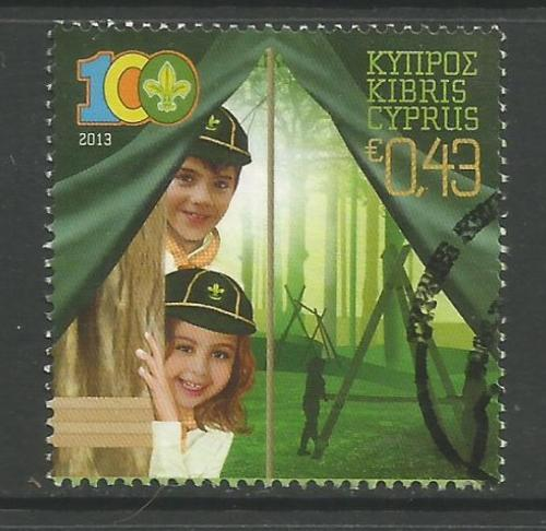 Cyprus Stamps SG 2013 (b) Cyprus Scouts Association Centenary - USED (h975)