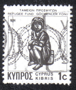 Cyprus Stamps 1984/87 Refugee fund tax SG 634b Aspioti-Elka Greek - USED (h932)