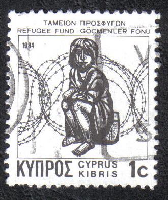 Cyprus Stamps 1984/87 Refugee fund tax SG 634b Aspioti-Elka Greek - USED (h