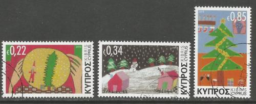 Cyprus Stamps SG 2014 (i) Christmas Icons - USED (h986)