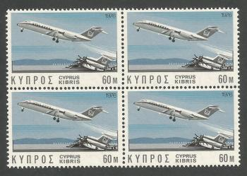 Cyprus Stamps SG 458 1976 60 mils - Block of 4 MINT