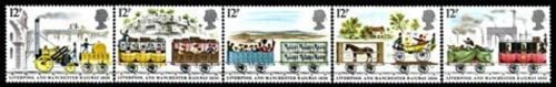 British Stamps 1980 Liverpool and Manchester Railway - MINT