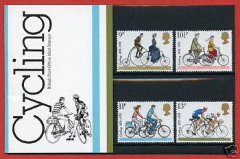 British Stamps 1978 Cycling Presentation pack - MINT (h993m)