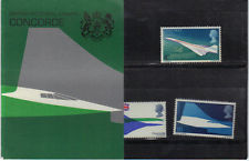 British Stamps 1969 Concorde Presentation pack - MINT (h993a)