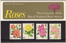 British Stamps 1973 Roses Presentation pack - MINT (h993b)