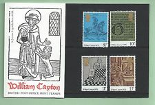 British Stamps 1976 William Caxton Presentation pack - MINT (h993f)