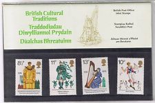 British Stamps 1976 British Traditions Presentation pack - MINT (h993h)