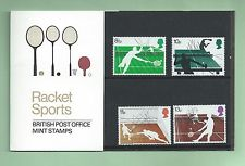 British Stamps 1977 Racket sports Presentation pack - MINT (h993i)
