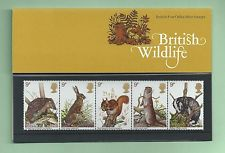 British Stamps 1977 British wildlife Presentation pack - MINT (h993j)