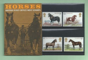 British Stamps 1978 Horses Presentation pack - MINT (h993p)