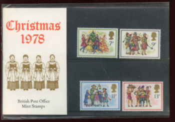 British Stamps 1978 Christmas Presentation pack - MINT (h993q)
