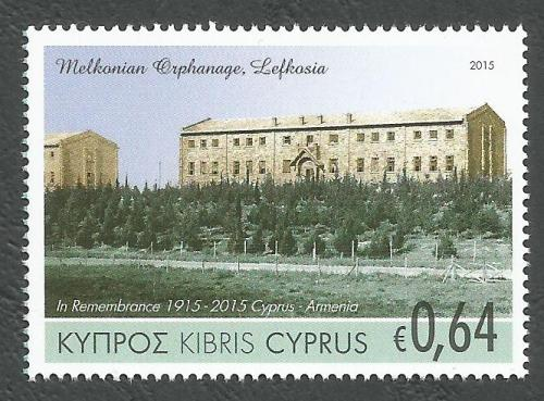 Cyprus Stamps SG 2015 (d) Joint stamp issue Cyprus & Armenia - MINT