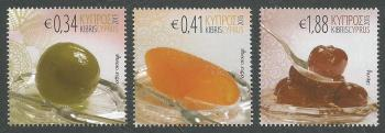 Cyprus Stamps SG 1364-66 2015 Cyprus Sweets - MINT