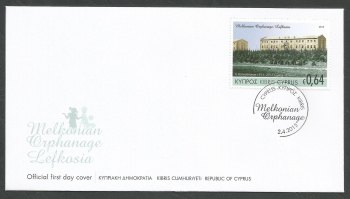 Cyprus Stamps SG 2015 (d) Joint stamp issue Cyprus & Armenia - Official FDC