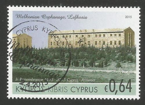 Cyprus Stamps SG 2015 (d) Joint stamp issue Cyprus & Armenia - USED (k066)