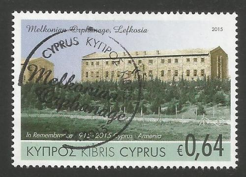 Cyprus Stamps SG 2015 (d) Joint stamp issue Cyprus & Armenia - USED (k067)