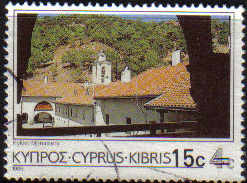 Cyprus Stamps SG 730 1988 15c/4c Surcharge - USED (c325)