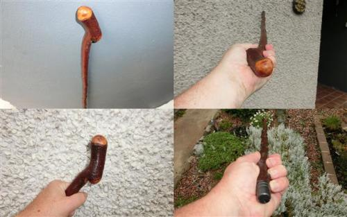 Irish Blackthorn Walking Stick. LF10