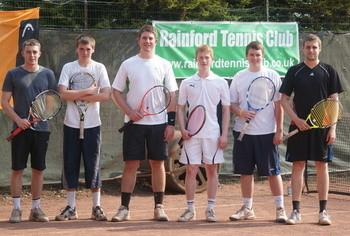 Rainford Tennis Club - Mens 1st Team 2010