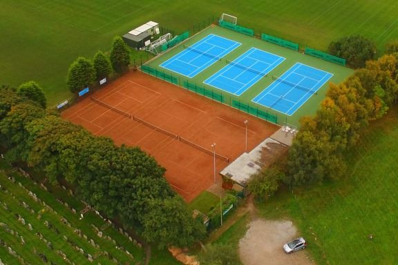 Rainford Tennis Club - Aerial View