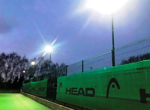Rainford Tennis Club - Temporary Floodlights