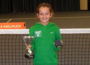 Maisie Lavelle wins Lancashire Tennis Championships