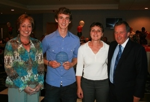 Rainford Tennis Club - 2009 Club of the Year in the Lancashire Tennis Award