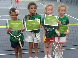 Rainford Tennis Club - 8 and Under Team