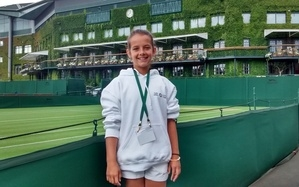 Maisie Lavelle at Wimbledon