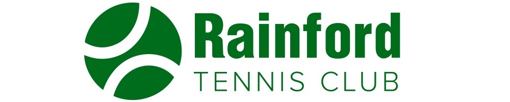 Rainford Tennis Club, site logo.