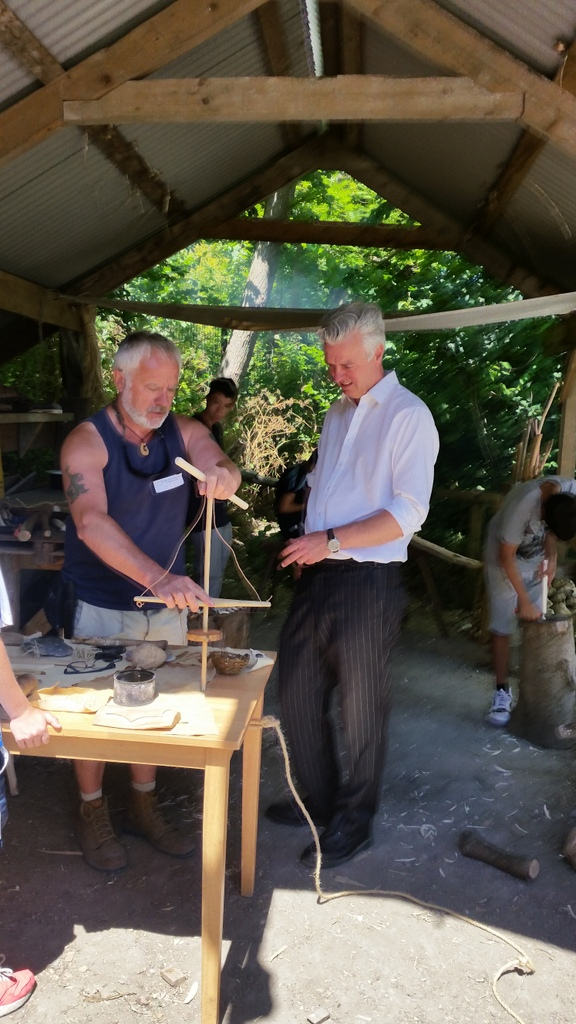 learning about green woodworking mfg open day 2015