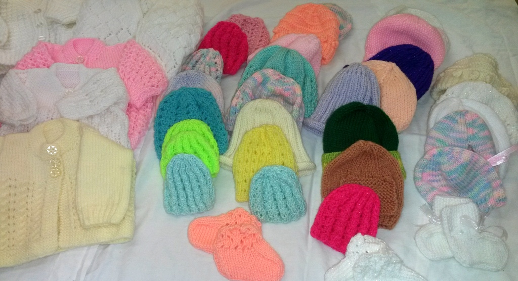 hats and cardigans