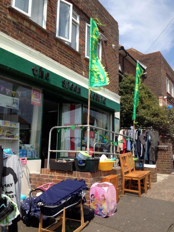 green centre brighton recycling exterior