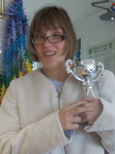 volunteer of the month sharna
