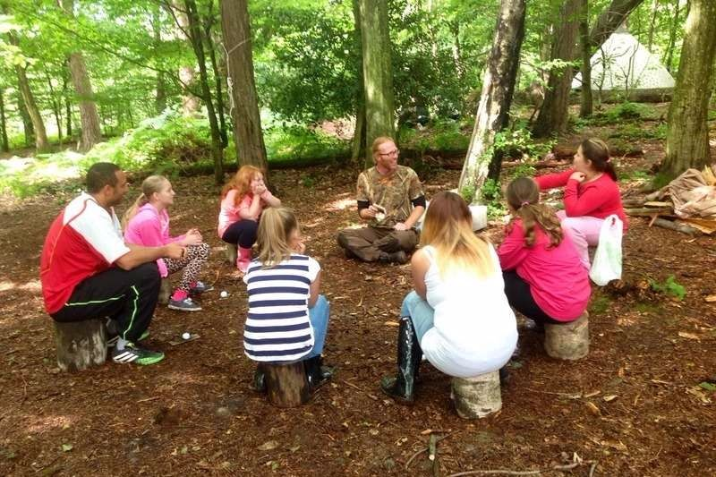 ABC Bushcraft day out
