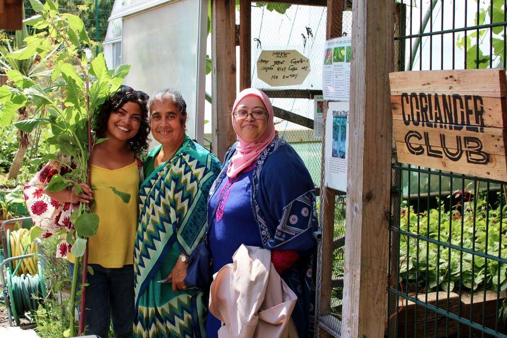 Moulsecoomb Bangladeshi Women's Group Coriander Club trip East Brighton Trust