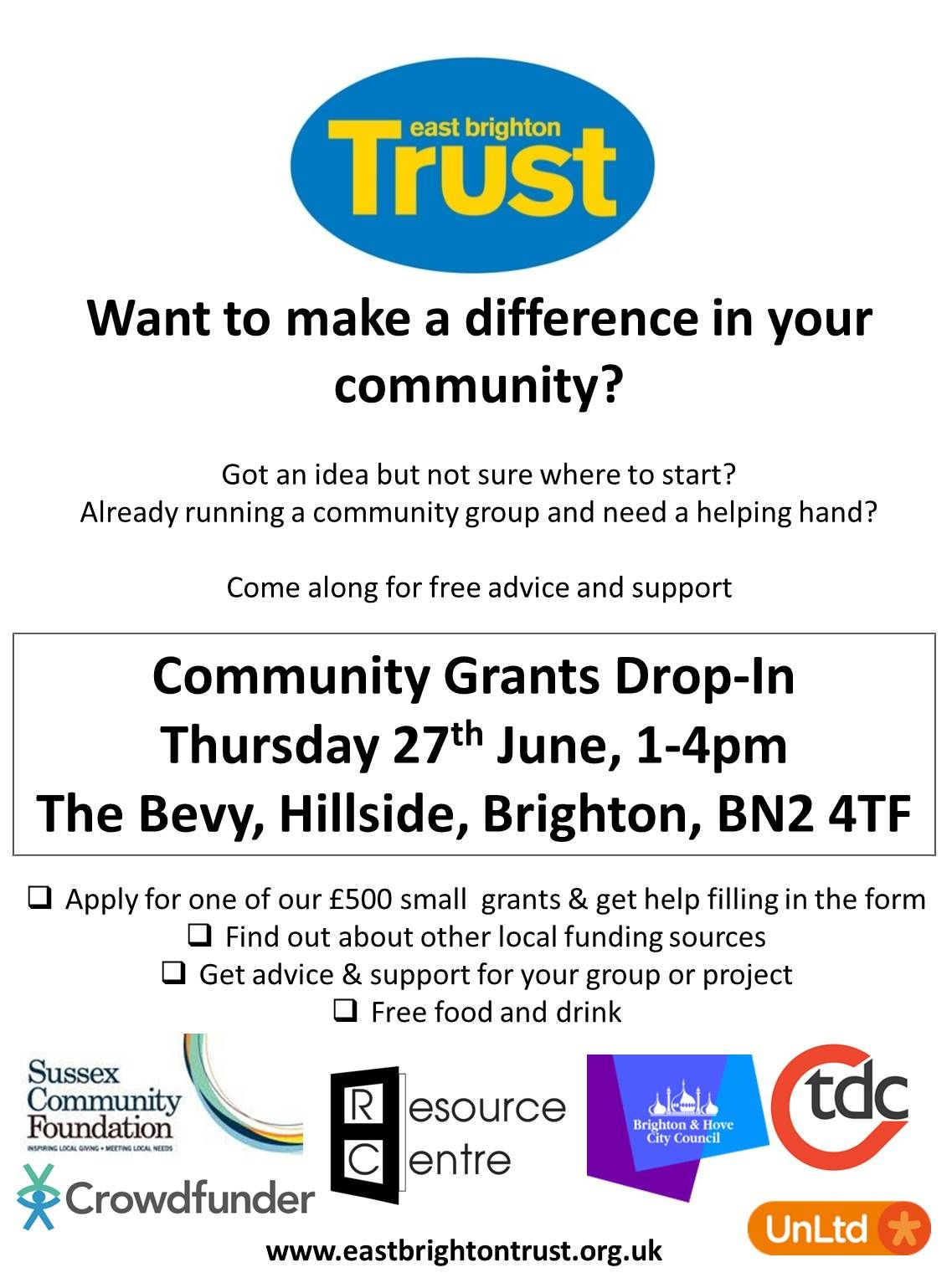 East Brighton Trust Grants Day