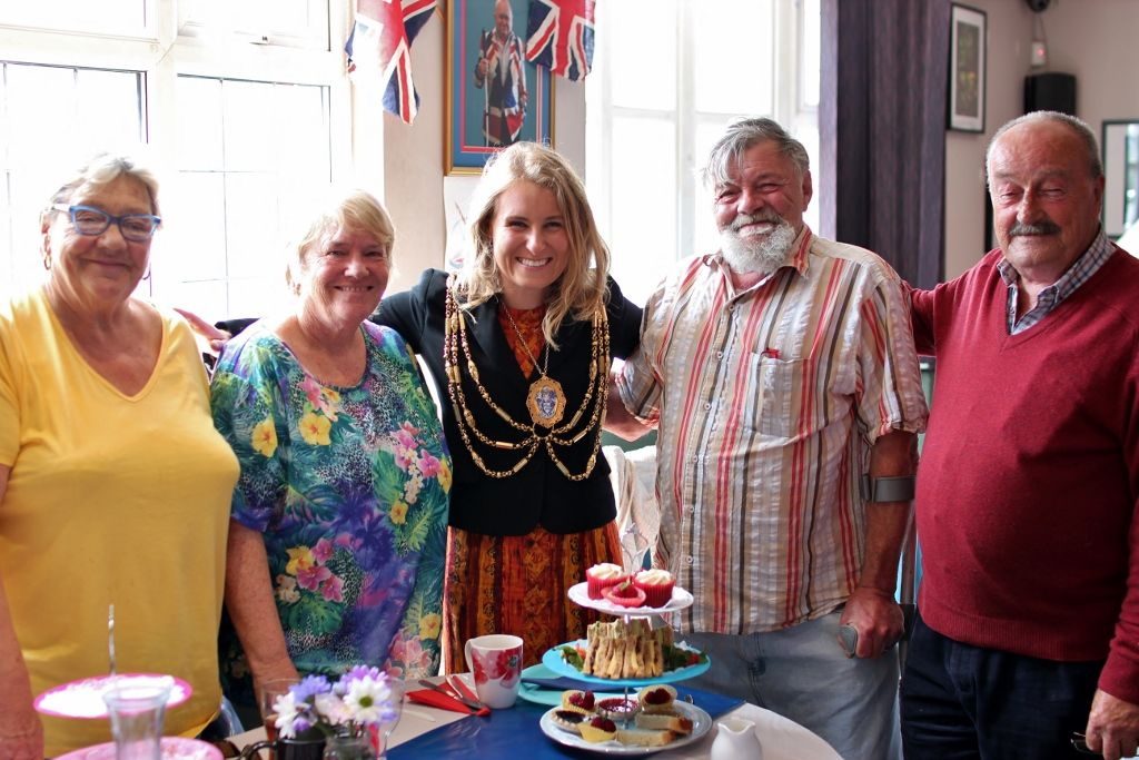 Friday Friends celebrate the Queen's birthday