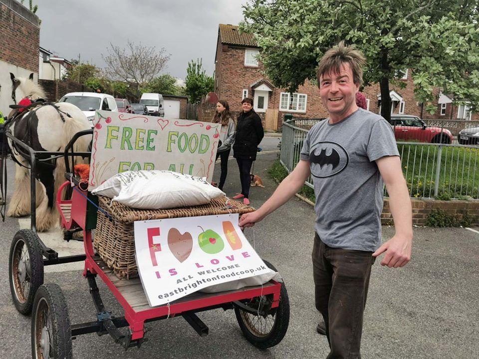 East Brighton food coop pony