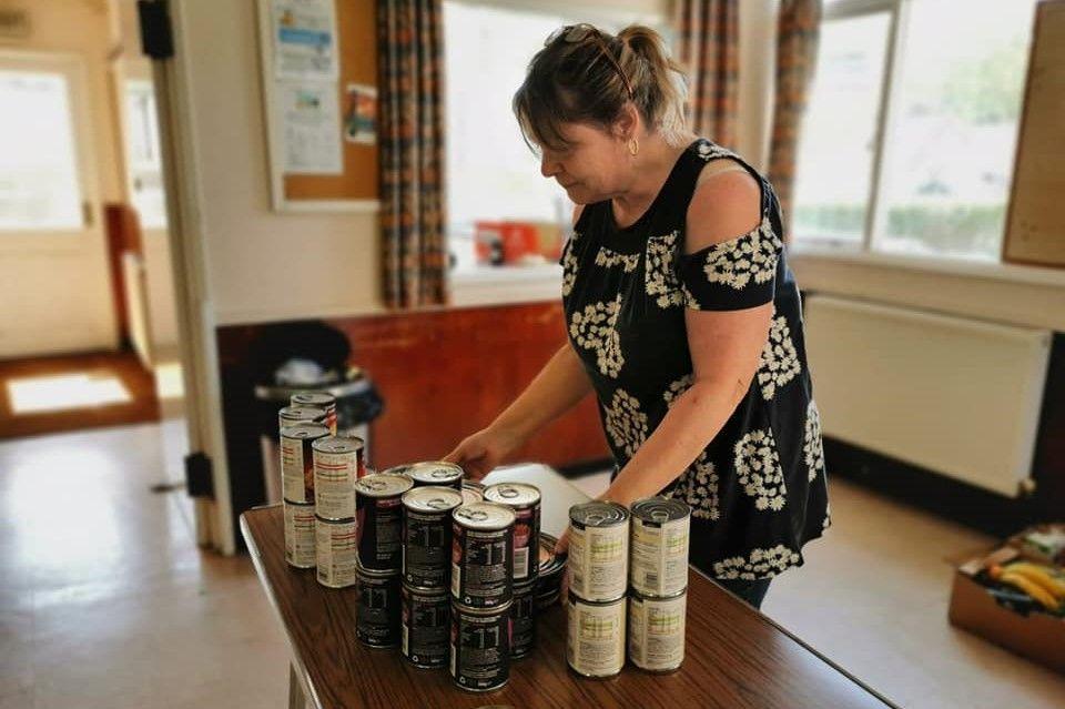 Mandy Bevendean Foodbank