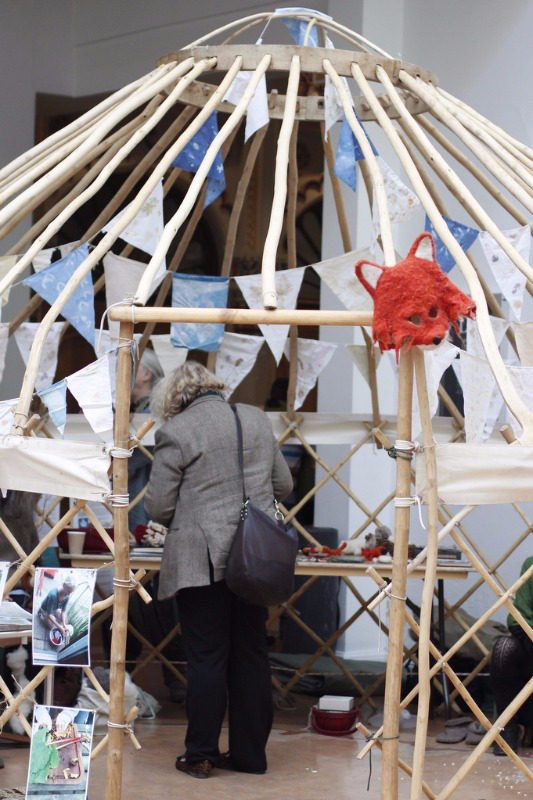 seedy sunday brighton 2015 yurt 2
