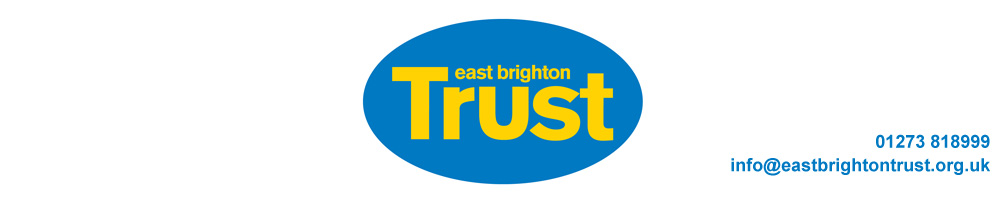 East Brighton Trust, site logo.