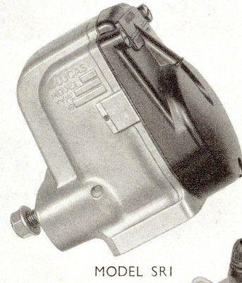 Lucas SR1 Magneto, bike with 6 volt electrics
