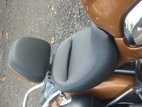 BMW R1200c custom seat