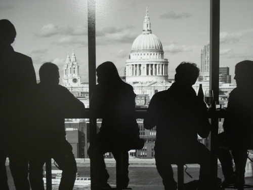 St. Pauls from Tate Modern , Limited Edition Photograph by John Raikes